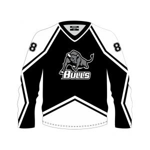 Jersey Bulls Black